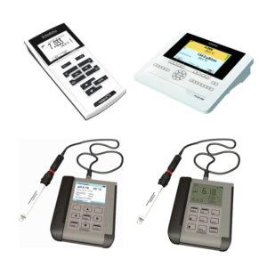 pH/ORP、ISE、溶氧、電導度測量儀
