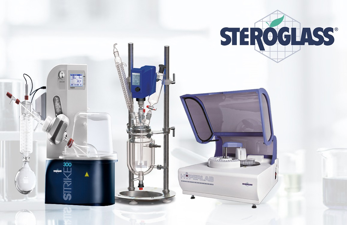 We are officially the distributor for Steroglass S.r.l.